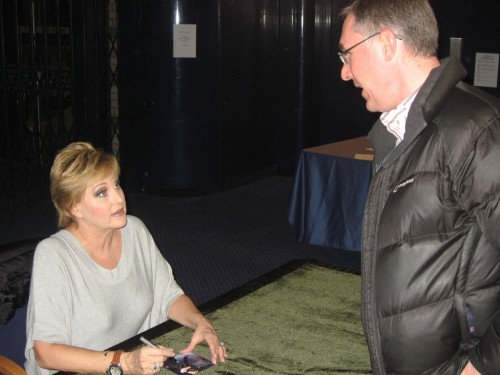 Lorna Luft signs Mike's CD